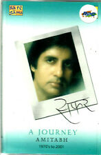 A JOURNEY AMITABH 1970's TO 2001 - BRAND NEW BOLLYWOOD - 2 CASSETTES SET