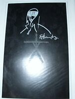 BLAIR WITCH PROJECT Glow in Dark DF Edition SIGNED Org Sketch Tommy Lee Edwards