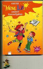 Hexe Lilli zaubert Hausaufgaben--für Erstleser--Mit Bär--Bücherbär