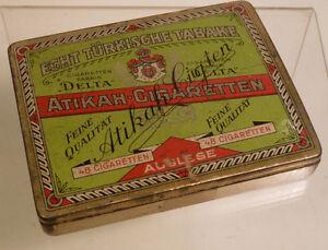 Zigarettendose Atikah-Cigaretten,48er, 40er Jahre