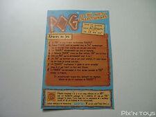 POG / Carte Checklist Série Pocahontas / WPF Pogs officiel [ Neuf ]