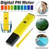 Digital PH Meter Tester Pocket Portable Pool Water Aquarium Hydroponic Wine