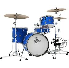 Gretsch Catalina Club Jazz 4 Piece Drum Set Shell Pack W/ Ludwig Atlas Hardware