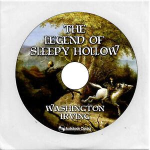 The Legend of Sleepy Hollow - Unabridged MP3CD Audiobook in CD jacket