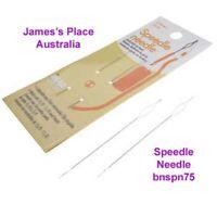 Speedle Needle - Easily picks up beads.