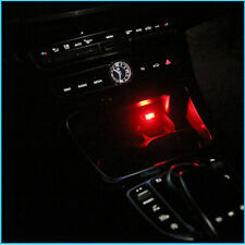 Red Mini USB LED Car Interior Light Neon Atmosphere Ambient Lamp Accessories