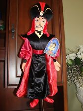 "Disney Store Classic Collection Villains Aladdin Jafar 26"" Plush Doll Figure Nwt"