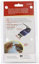 2 Pack - Acu-life Hearing Aid Audio Cleaner Cleaning Kit Tool 1 Each