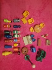 New ListingVintage Fisher Price Little People Play Family Sesame Street huge lot!