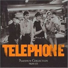 Telephone-platinum collection 3 CD FRANCAIS FRENCH pop NEUF