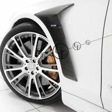 W222 carbon fenders for S63 S65 B Style carbon fiber fender vent 2014~2019