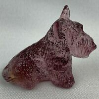 Boyd Art Glass Duke the Scottie Dog - Siesta