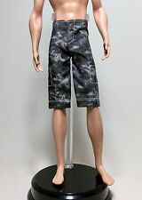 KEN Beach Fashion: Black & Grey Board Shorts. Brand New, De-Boxed Barbie/Mattel.