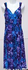 WOMENS cool summer MAXI DRESS = CHAPS by Ralph Lauren = SMALL = NEW $110 = ym66