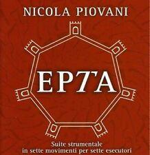 Nicola Piovani: EPTA (New/Sealed CD)