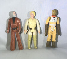 Star Wars Loose Figures Luke Skywalker Obi-wan Kenobi Bosk