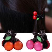 Hair Clips for Women Girls Cherry Mini Hair Claws Fashion Hair Accessories xdVGH