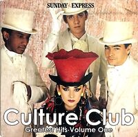 Culture Club / Various ‎CD Greatest Hits Volume One - Promo - England