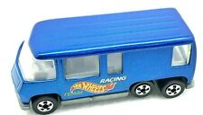 HOT WHEELS GMC MOTOR HOME BLUE #524 1996 TEAM RACING MADE IN INDIA