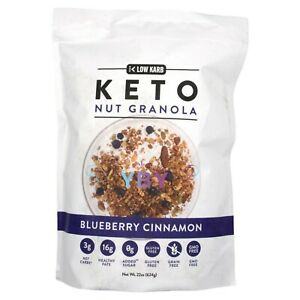 Low Karb Keto Nut Granola Blueberry Cinnamon 22 oz