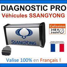 Valise Diagnostic PRO SSANGYONG + Programmations - AUTOCOM DELPHI VAG COM ELM327
