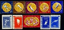 1961 Melbourne,Rome Olympics,Gold Medals,Polo,Boxing,Canoe,Romania,2010A,$12,MNH