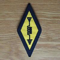 International Amateur Radio Symbol Logo Sew Iron On Cloth Patch Shirt nt Sticker