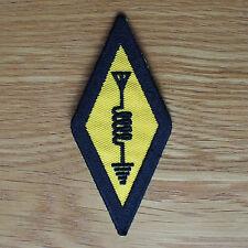 International Amateur Radio Symbol Logo Sew Iron On Cloth Patch Shirt nt Sticker