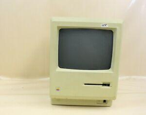 Vintage Apple Macintosh Plus 1MB Computer Monitor Model M0001A POWERS ON