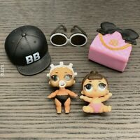 LOT 2 LOL Surprise LiL Sisters MVP hoops /& KICKS CLUB SERIES 2  doll toy SDUS1
