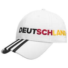 Deutschland adidas 3 Streifen Cap Freizeit Fan Kappe Fußball Sport AI5002 neu