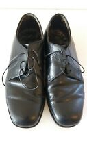 Vintage Bootmaster Tom Mc An Oxford Leather Black Men Shoes Size A8