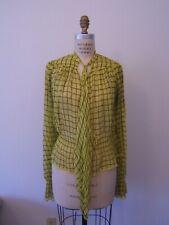 New listing Vintage 1970s Ossie Clark Print By Celia Birtwell Silk Tie Neck Peasant Blouse