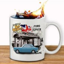 Personalised FORD zephyr Car Mug Cup Dad Custom Gift - Add Name