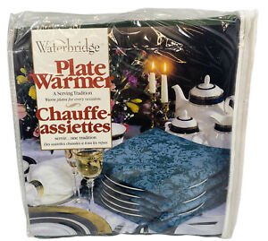 Waterbridge Plate Warmer Up to 15 Plates Hunter Green Brand New in Bag