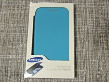 Samsung branded BLUE Flip Cover for the Samsung Galaxy Note II 2!!  #863