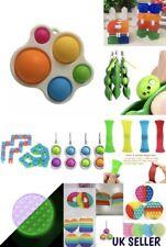 Push pop Sensory Dimple Toy Kids Babies Adults Fidget Fun play Stress Relieve UK