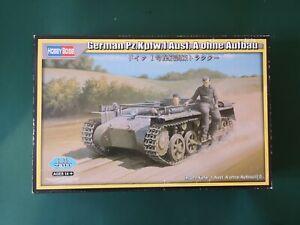 1/35 hobbyboss German pz.kpfw.1 Ausf. A ohne Aufbau