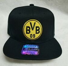 BORUSSIA DORTMUND HAT BLACK  ADJUSTABLE  SNAP BACK NEW!!