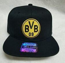 BORUSSIA DORTMUND HAT BLACK  ADJUSTABLE  SNAP BACK NEW!!