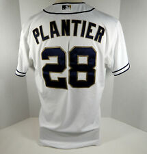 2012 San Diego Padres Phil Plantier #28 Game Used White Jersey