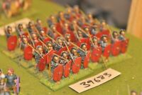 25mm roman era / roman - legionaries 32 figures - inf (39683)