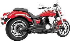 KAWASAKI VN2000 VULCAN Sharp Curve Radius Exhaust BLACK freedom performance
