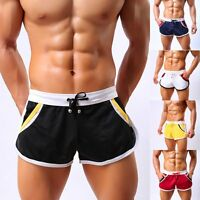NEW Sexy Men's Sport Shorts Running Casual Home Pants GYM Racing Short Athletic