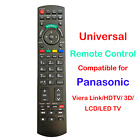 Universal Remote Control Compatible for all Panasonic Viera Link/ 3D/ LCD/LED TV