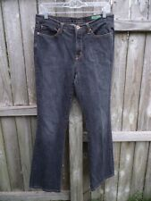 "Jean Star Mercury Boot Cut Black Jeans Size 10 Inseam 31""  FREE SHIPPING  W740"