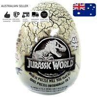 Jurassic World 46 Piece Mystery Puzzle Egg Educational Learn Kids