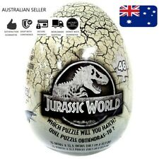 Jurassic World 46 Piece Mystery Puzzle Egg Educational Toys Books
