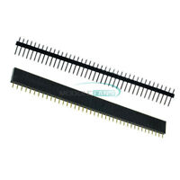 10PCS 40pin 2.54mm Male&Female Header Socket Single Row Strip PCB Connector Cool