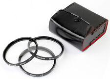 E55 Makro-LINSEN 3 Stk. CLOSE-UP lens SOLIGOR No.1, 2, 3 - Wie NEU condition A !
